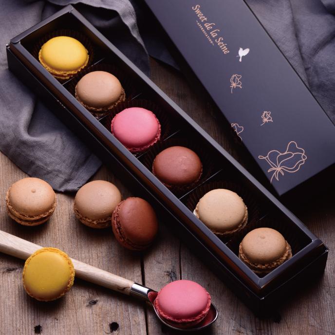 【食感旅程Palatability】甜蜜馬卡龍禮盒4盒(每盒6入)(免運)