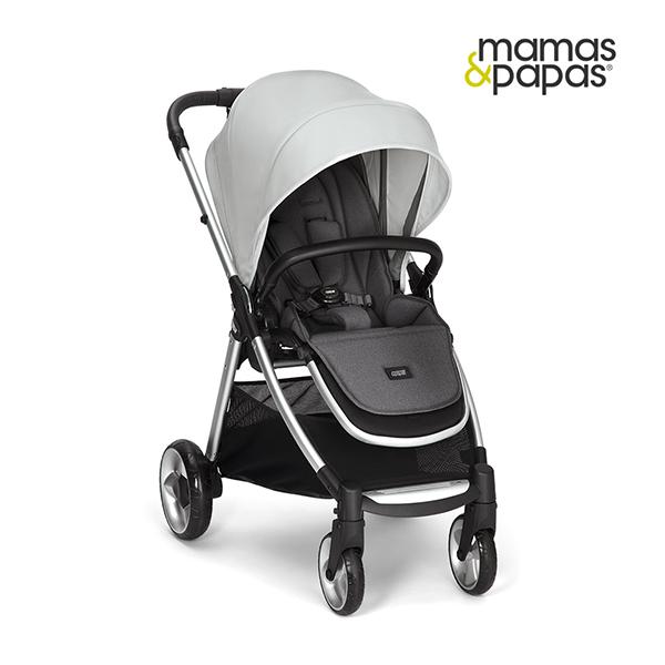 【Mamas & Papas】穿山甲雙向手推車 Flip XT2-伯明罕(雲灰)