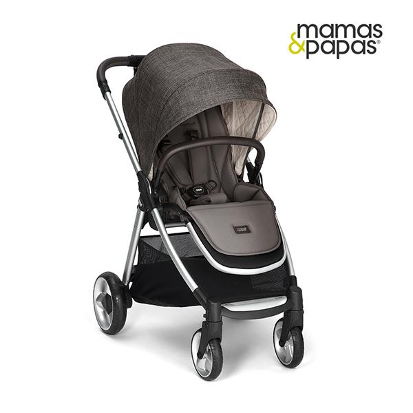 【Mamas & Papas】穿山甲雙向手推車 Flip XT2-曼徹斯特(灰)