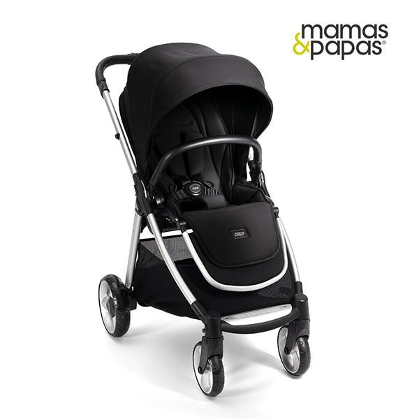 【Mamas & Papas】穿山甲雙向手推車 Flip XT2-倫敦(黑)