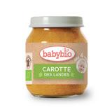 ✪法國Babybio 有機紅蘿蔔蔬菜泥✪130g