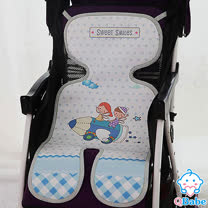 Qbabe <br> 嬰兒推車冰絲蓆涼墊2入組