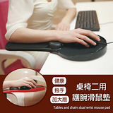 [Conalife] 加大版健康托手桌椅2用謢腕滑鼠墊(2入)