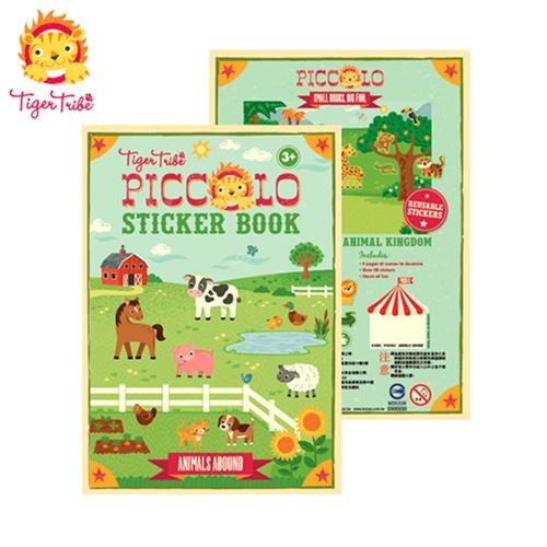 【BabyTiger虎兒寶】遊戲書系列 TIGER TRIBE 遊戲貼紙口袋書 - 農場動物