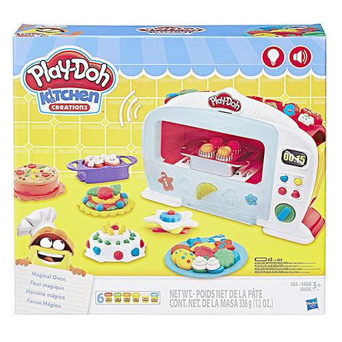 《Play-Doh 培樂多》多廚房系列神奇烤箱組