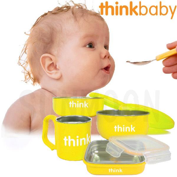 Thinkbaby 無毐不鏽鋼餐具組