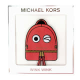 MICHAEL KORS眨眼後背包貼紙