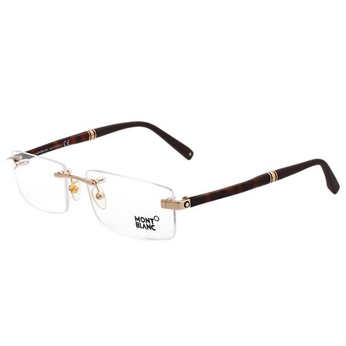 萬寶龍MONTBLANC 無框光學眼鏡 (金色) MB449