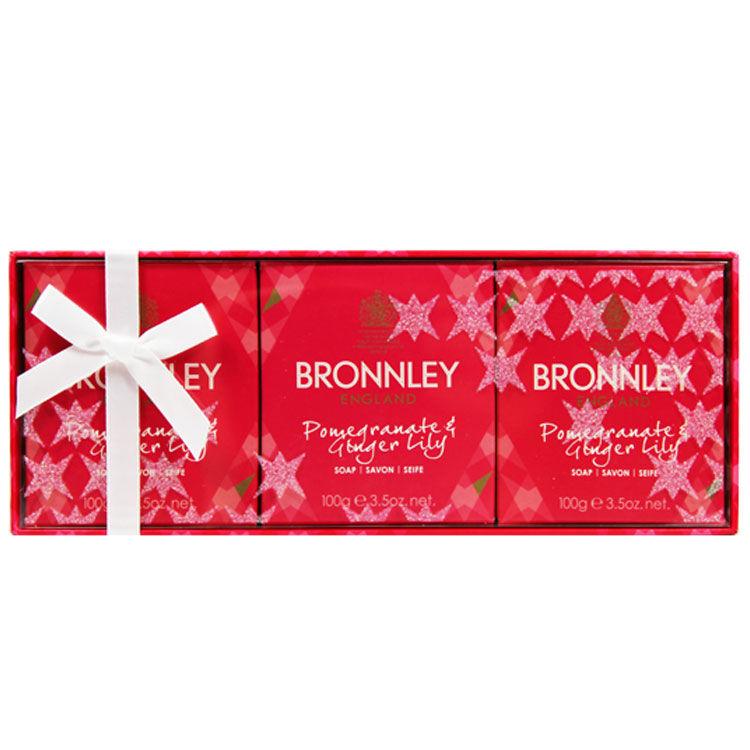 御香坊 BRONNLEY 石榴生薑皂禮盒