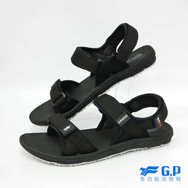 【G.P 女款時尚休閒織帶涼鞋】 G8658W-10 黑色 (SIZE:36-39 共三色)