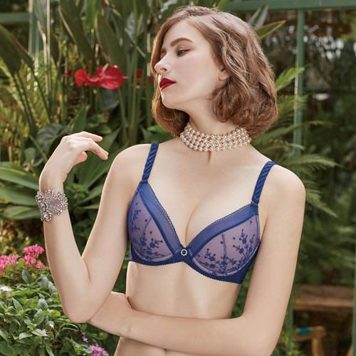 【瑪登瑪朵】反正都美Bra內衣  A-C罩杯(極勁藍)