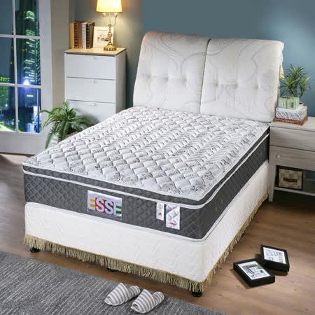 ESSE御璽名床 天絲三線加高獨立筒床墊