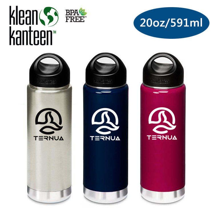 Klean Kanteen 保溫鋼瓶 K20VWSSL Ternua聯名款  20oz 591ml  城市綠洲  水壺、水瓶、自行車水壺、不銹鋼瓶、 水壺