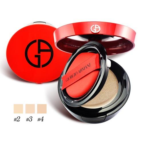GIORGIO ARMANI 訂製絲光精華氣墊粉餅15g 多色可選 國際限定版