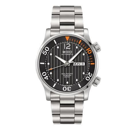 【僾瑪精品】MIDO 美度 MULTIFORT 先鋒系列 機械腕錶 (M0059301106080)