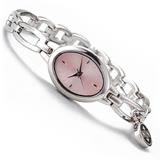 《NAFNAF》橢圓女錶-粉紅色