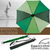 【德國 EuroSCHIRM】全世界最強的雨傘!!! BIRDIEPAL OUTDOOR 戶外專用風暴傘/抗導電.質輕強韌.耐撞擊.指北針 深綠/翠綠 W208-CW7