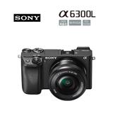 SONY ILCE-6300L A6300L 16-50mm變焦鏡組(公司貨) 送專用電池+專用座充+64G高速卡+吹球清潔組