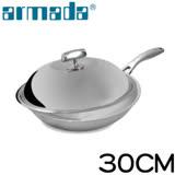 armada 菁英5層316不鏽鋼複合金瑞士單柄炒鍋 30cm