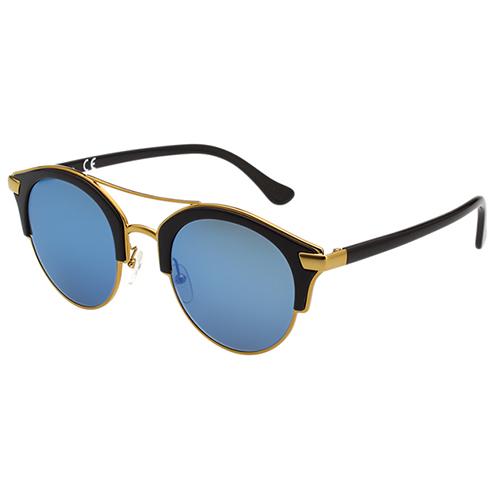 Calvin Klein- 韓版系列 水銀面 太陽眼鏡(黑配金)CK1226SK