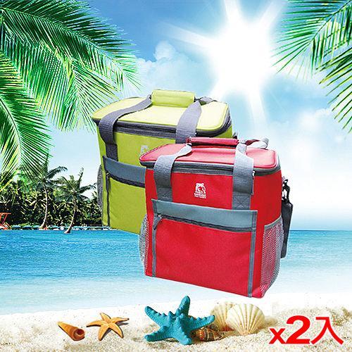 ★2件超值組★GRIZZLY保冷袋GLB1900R-綠(19L)