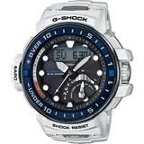 CASIO 卡西歐 G-SHOCK MASTER 海軍進階版太陽能電波手錶-白 GWN-Q1000-7A