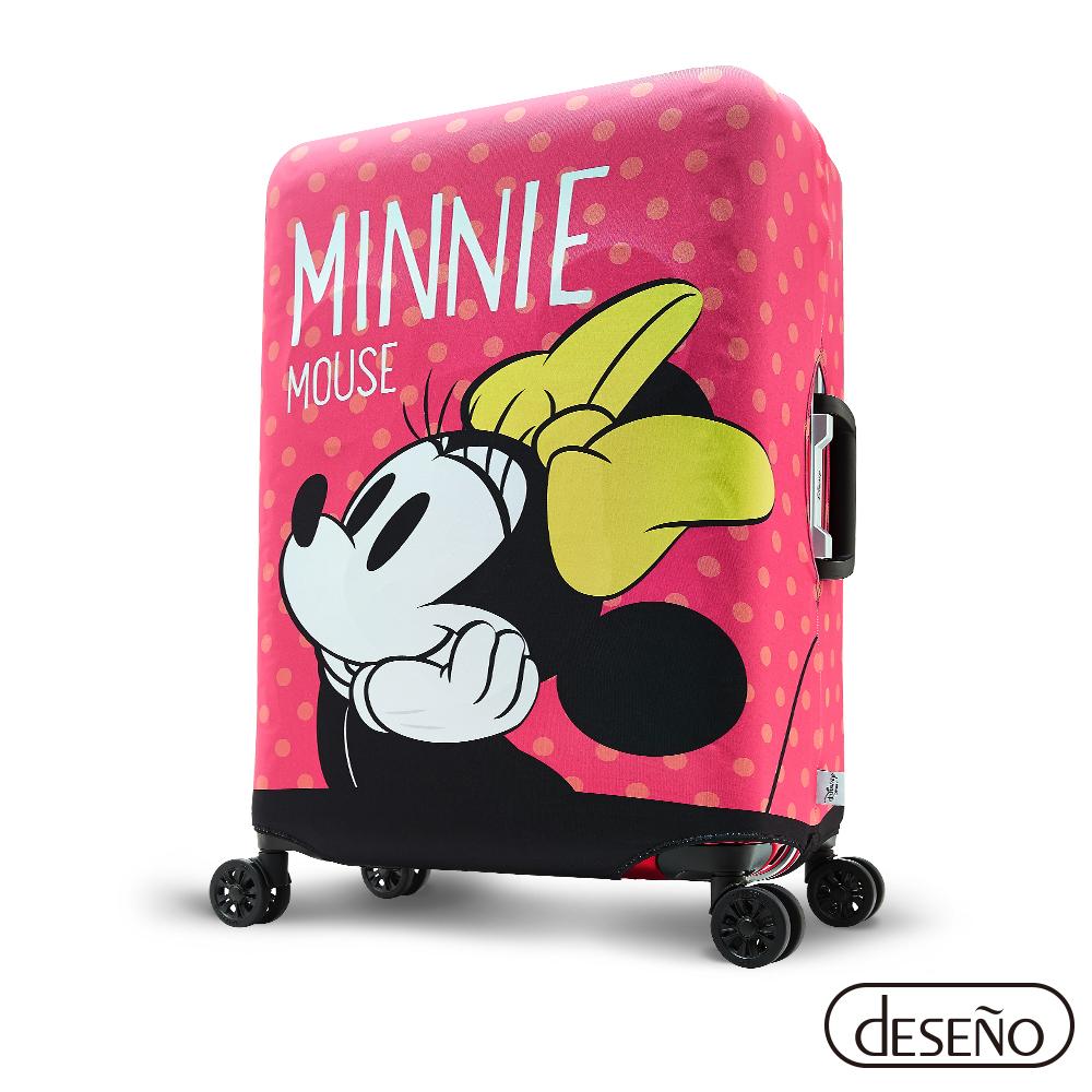 Disney 迪士尼Minnie彈性箱套-少女夢想(M)