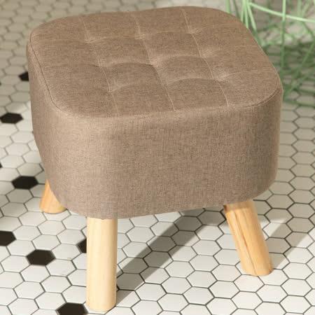 日式方形實木椅凳