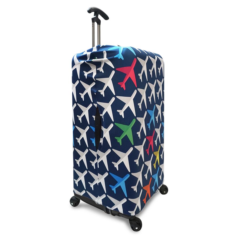 LOQI 行李箱外套|飛機【XL號】 (適用Sport、冰箱系列行李箱)