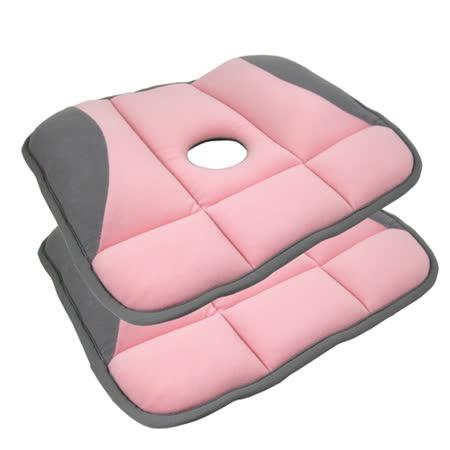 久坐上班族適用 日式改良版美臀坐墊3入
