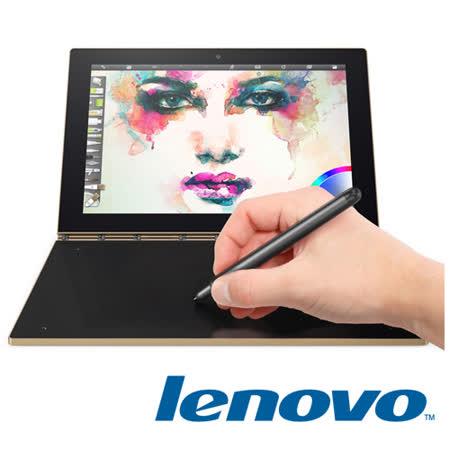 Lenovo Yoga book 10.1吋 FHD Z8550/4G/64G/WIN 10 金 超薄二合一平板電腦 贈 10吋 聯想包、7-11禮卷100元 -friDay購物