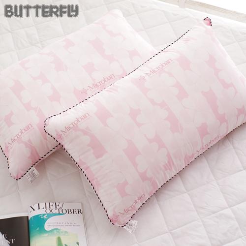 BUTTERFLY - 四孔透氣纖維棉枕 台灣製造 Microban技術抗菌抑臭
