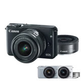 Canon EOS M10 EF-M 15-45mm +22mm 雙鏡組 (公司貨)