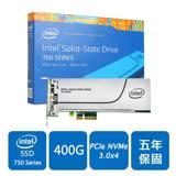 Intel 750系列 400GB PCI-E 固態硬碟(SSDPEDMW400G4X1)