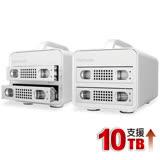 伽利略 USB3.0 1至2層抽取式鋁合金硬碟外接盒(35D-U32RM)