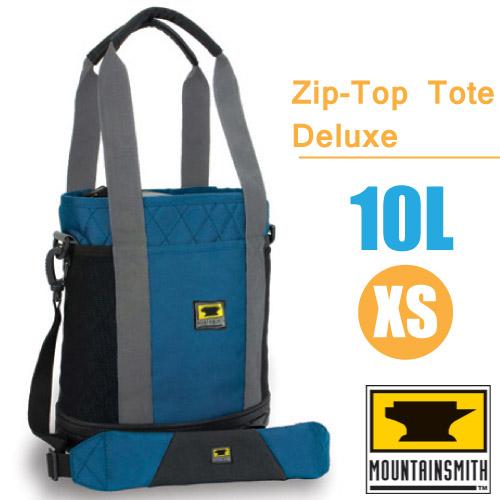 【美國 MountainSmith】Zip-Top Tote Deluxe 時尚多功能可提可背置物包10L(XS).單肩包.便利手提袋.置物袋/ 70138 藍