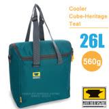 【美國 MountainSmith】Cooler Cube-Heritage Teal 大容量保溫提袋(26L)/保冰袋.手提包./D47507050 藍