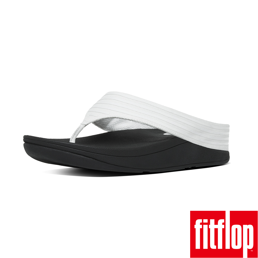 FitFlop™- (女款)RINGER™ TOE-POST-都會白