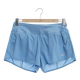 NIKE 女 慢跑短褲 AS W NKFLX SHORT 3IN RIVAL藍-719583465