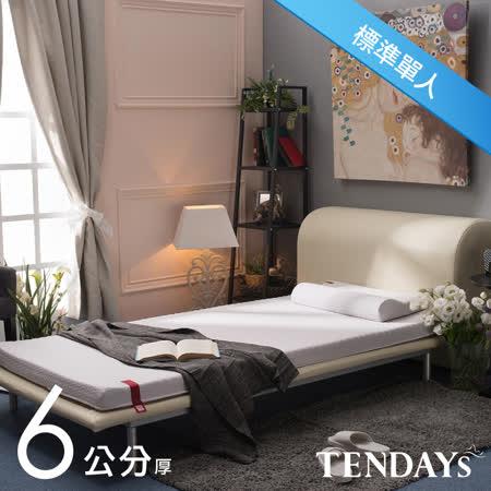 TENDAYS 柔織舒壓記憶床枕組-單人