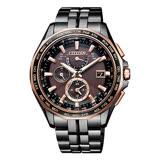 CITIZEN 星辰 電波光動能時尚腕錶 AT9096-73E