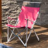 多功能鋁合金露營野餐折疊椅-加高版