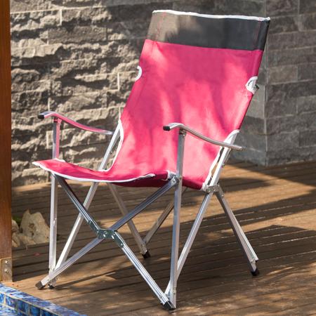 多功能加高版 鋁合金露營野餐折疊椅