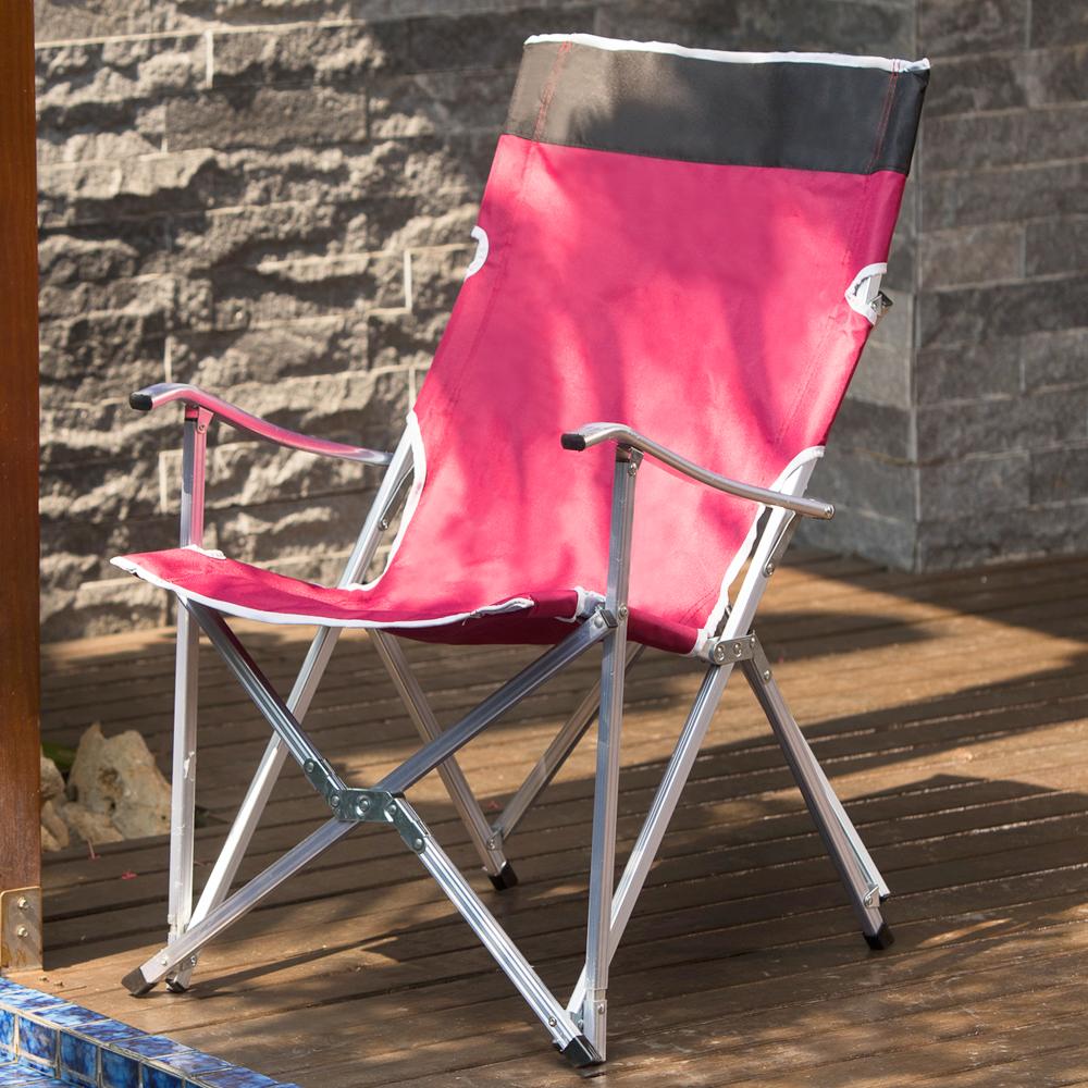 快速開合設計 多功能野餐折疊椅