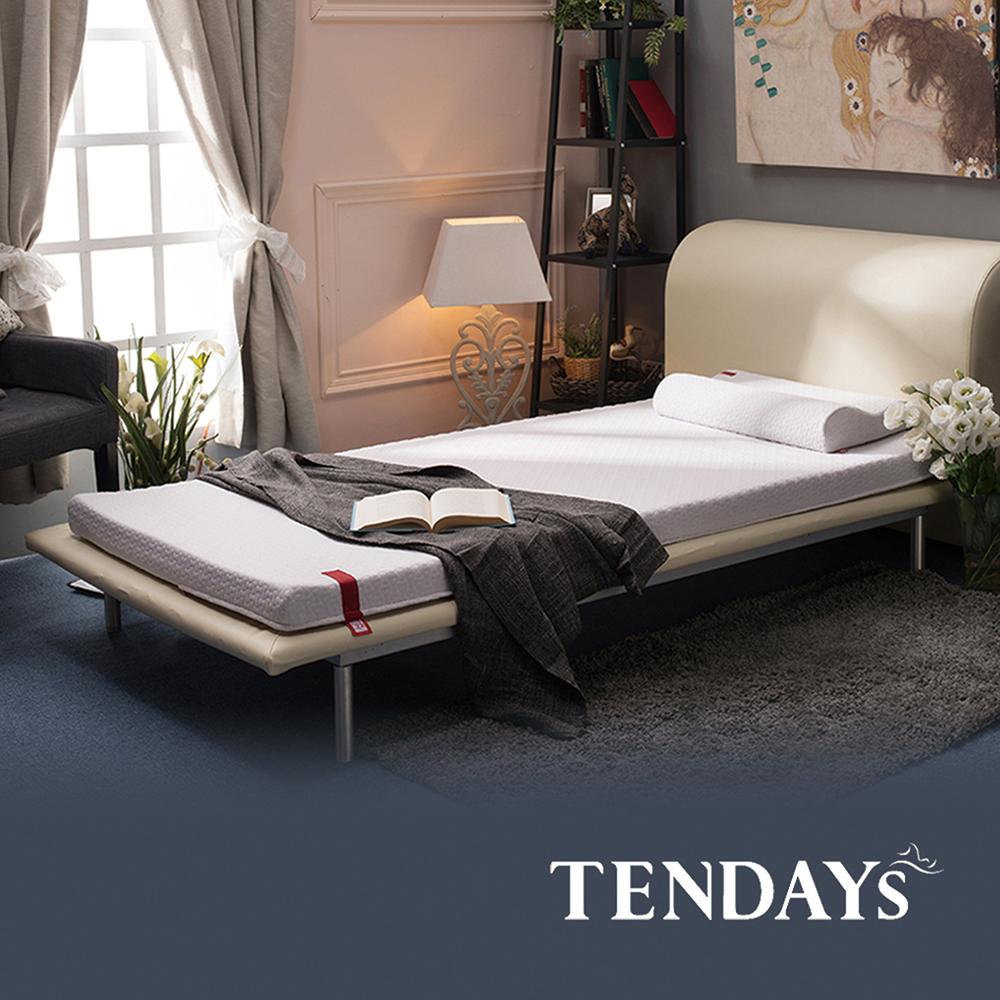 【TENDAYS】柔織舒壓床墊(加大單人3.5尺 7cm厚記憶床)
