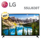 ★限時促銷★LG 樂金 55吋 4K UHD 液晶電視 55UJ630T (含基本安裝)-加送CASA DC直流風扇CA-1407+高速乙太網路HDMI