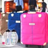 [Conalife]台灣製升級版優質拉桿購物袋行李包