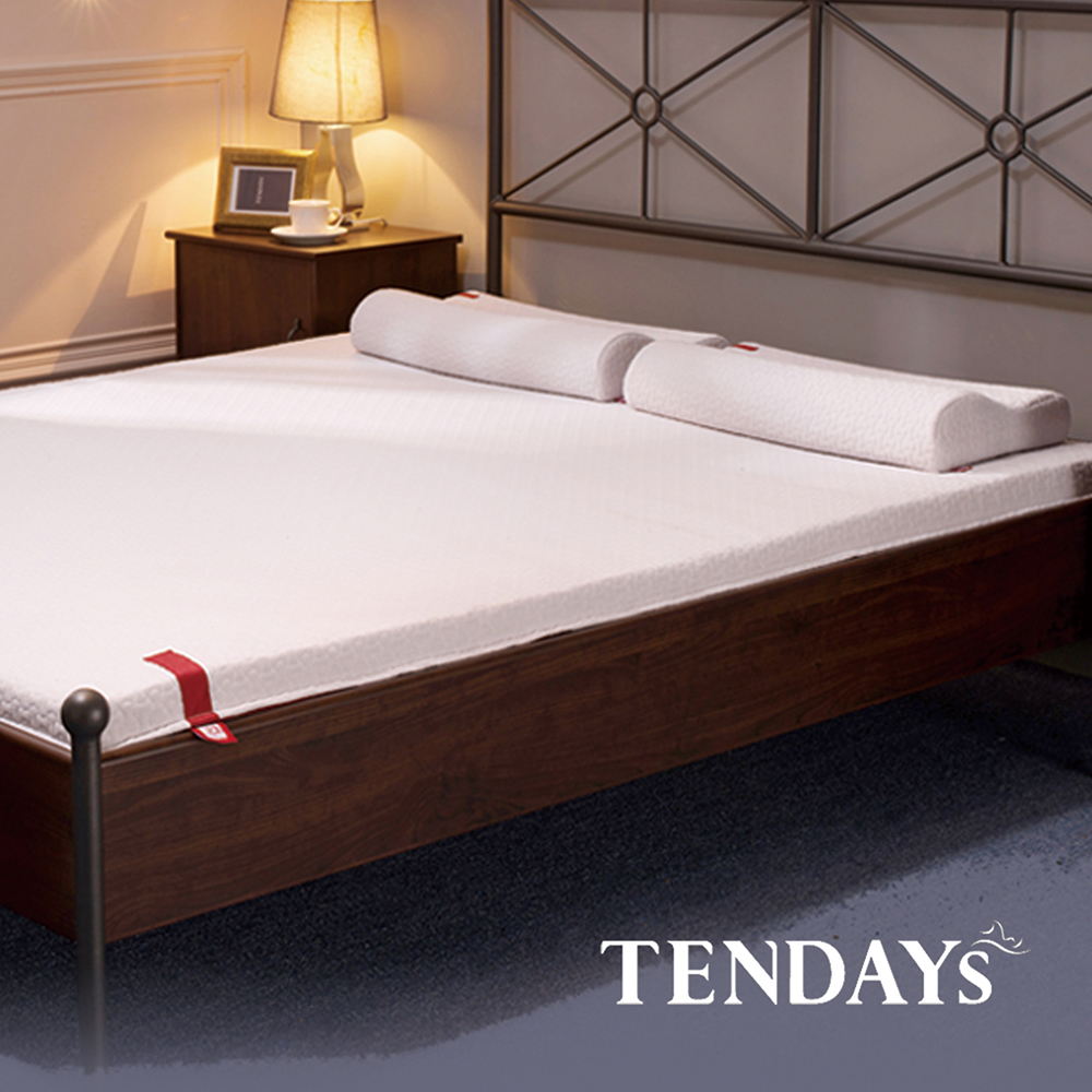 【TENDAYS】柔織舒壓床墊(加大雙人6尺 7cm厚記憶床)