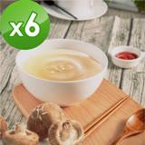 【御田】頂級黑羽土雞精品熬製鮮菇雞高湯(500g/包)x6件組