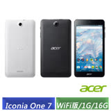 ACER Iconia One 7 B1-790 (1G/16G) 四核平板電腦 (黑/白)-【送7吋平板保護套】